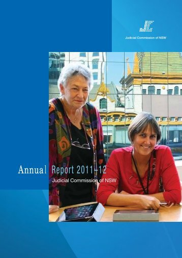 Annual Report 2011-2012 - Judicial Commission of New South ...
