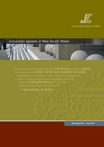 Monograph 35 - Judicial Commission of New South Wales