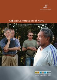 Annual Report 2010-2011 - Judicial Commission of New South ...
