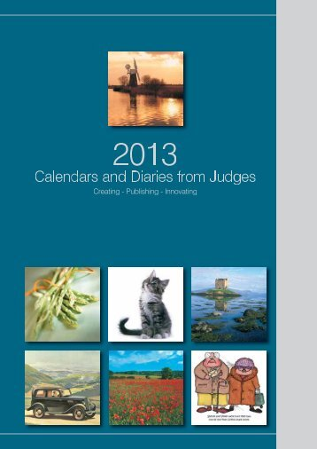 to download a pdf of our 2012 range brochure. - Judges Postcards Ltd