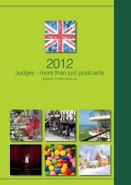 to download a pdf of our bespoke printing brochure. - Judges ...