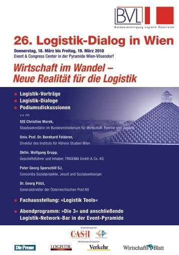 26. Logistik-Dialog in Wien