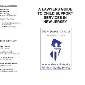 nj child support guidelines calculator