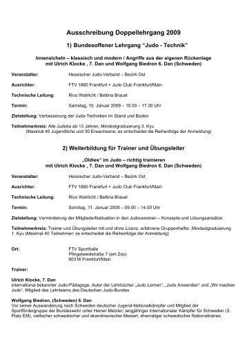 Ausschreibung in pdf - Deutscher Judobund eV