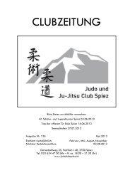 Clubzeitung_2013_2.pdf Nr. 126 - Judo und Ju-Jitsu Club Spiez