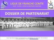 Partenaire « Ceinture Bleue - Ligue de Franche-Comté de Judo