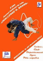 challenge O Brand 2011-2012 - Ligue de Franche-Comté de Judo
