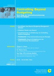 Controlling Beyond Budgeting - Juergen Daum