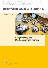 deutschland & europa - lehrerfortbildung-gemeinschaftskunde ...