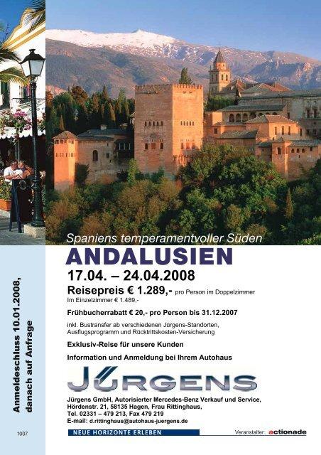 ANDALUSIEN - Jürgens GmbH