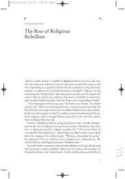 The Rise of Religious Rebellion - Mark Juergensmeyer