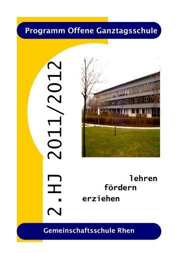 """Kursnummer - Jugendforen """"Tonne/Rhen"""""""