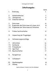 Inhaltsangabe: - Miniforschung am St. Michael-Gymnasium