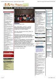 report-K, Kölns Internetzeitung - Jungforscher tagen in Köln http ...