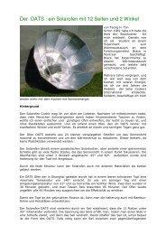 Der DATS : ein Solarofen mit 12 Seiten und 2 Winkel