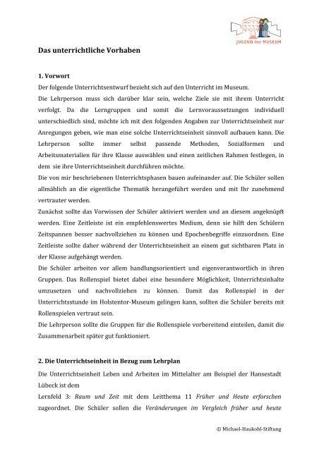 Download Didaktische Analyse Pdf Jugend Ins Museum