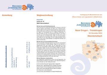 20111122_Flyer OKJA - Jugendarbeit in Mittelfranken