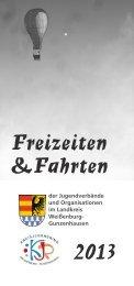 Freizeiten- 2013.pdf - Jugendarbeit in Mittelfranken
