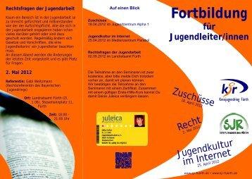 2. Mai 2012 - Jugendarbeit in Mittelfranken