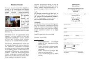 Medienwerkstatt - Jugendarbeit in Mittelfranken