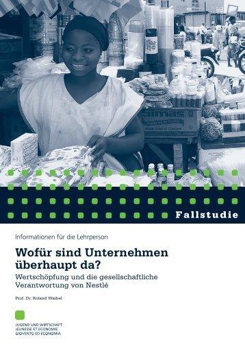 Nestle-Lehrpersonen.pdf - Jugend und Wirtschaft