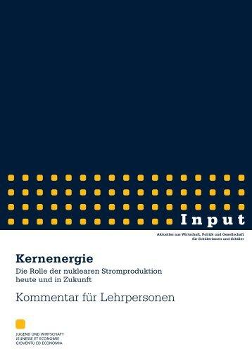 Kernenergie-Kommentar.pdf - Jugend und Wirtschaft