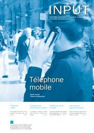 Telephonie mobile.pdf - Jugend und Wirtschaft