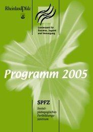 SPFZ Programm 05 - Jugend.rlp.de - in Rheinland-Pfalz