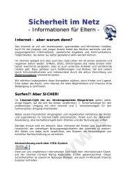 Sicherheit im Netz - Jugend.rlp.de