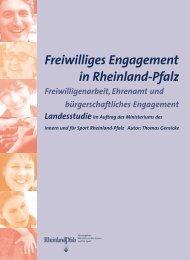 Freiwilliges Engagement in Rheinland-Pfalz - Wir tun was