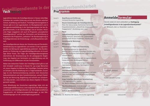 Freiwilligen- dienste - Jugend.rlp.de