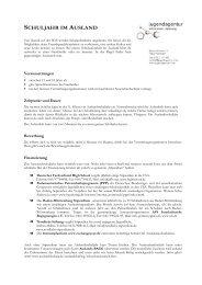 DZ.04.02 - Schuljahr Ausland - jugendagentur nürtingen