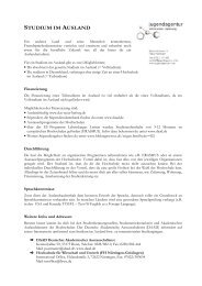 DZ.04.01 - Studium Ausland - jugendagentur nürtingen