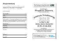 2012 - Anmeldung Pfingsten - jugendagentur nürtingen