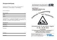 2013 - Anmeldung Pfingsten - jugendagentur nürtingen