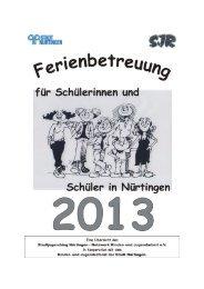 2013 - Broschüre komplett - jugendagentur nürtingen