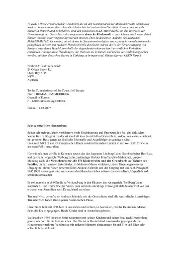 [ CEED : Diese erschreckende Geschichte die an den Kommissaren ...