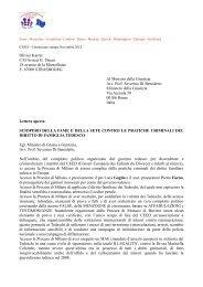 Lettera aperta di Olivier KARRER al Ministro della Giustizia italiana