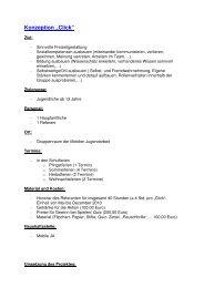 Konzeption Click - Kommunale Jugendarbeit Neckarsulm