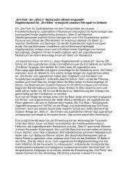 Pressebericht zur Einweihung (18 kB) - Kommunale Jugendarbeit ...