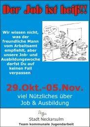 29.Okt.-05.Nov. 29.Okt.-05.Nov. - Kommunale Jugendarbeit ...