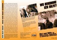 Flyer Jugend Deutsch - Kommunale Jugendarbeit Neckarsulm