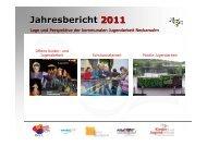 Sachstandsbericht 2010/2011 - Kommunale Jugendarbeit Neckarsulm