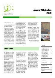 Tätigkeiten 2008.pub - Das Jugendbuero der