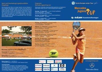 Mercedes Jugend Cup Flyer 2011.indd