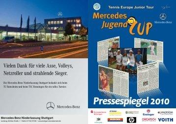Pressespiegel 2010 - Mercedes Jugend Cup