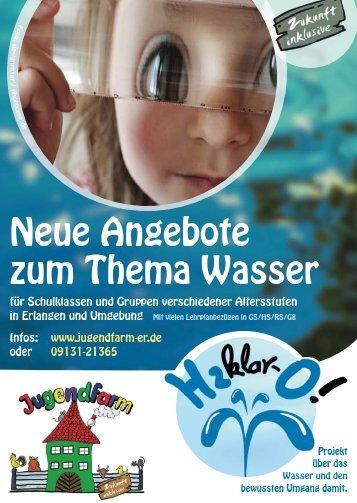Projektflyer zum Ausdrucken - Jugendfarm Erlangen