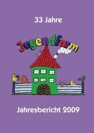 33 Jahre Jahresbericht 2009 - Jugendfarm Erlangen