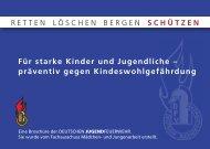Flyer zum Schutz des Kindeswohls (Prävention) - Deutsche ...