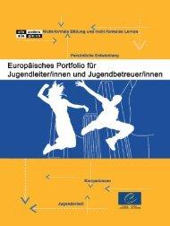 Europäisches Portfolio für Jugendleiter/innen - Council of Europe
